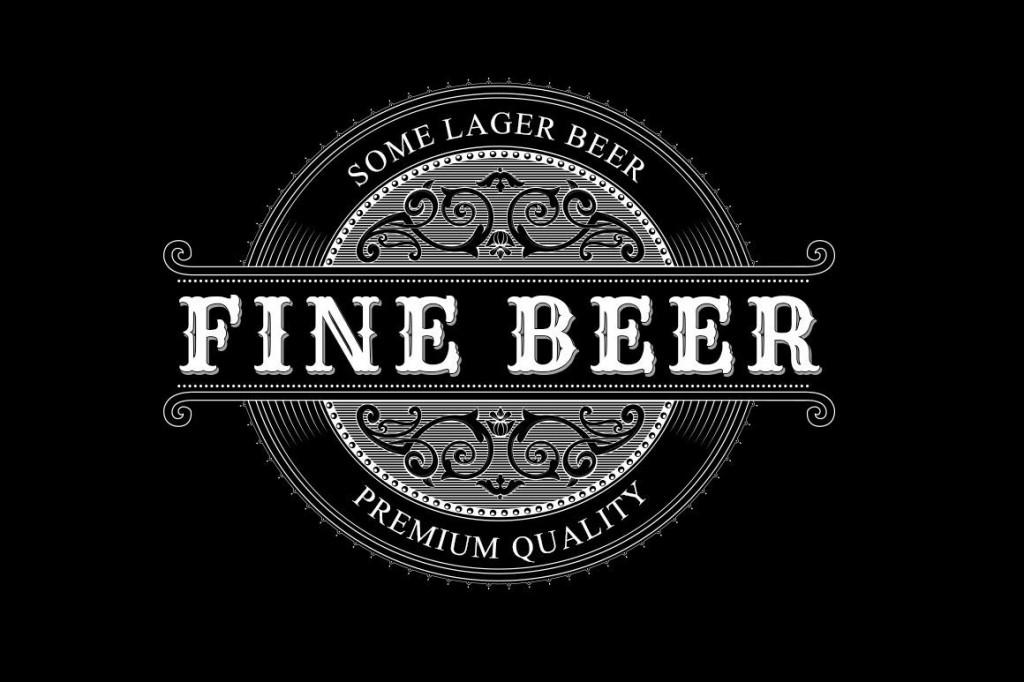004 Stirring Beer Label Template Word Design  Free Bottle MicrosoftLarge