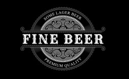 004 Stirring Beer Label Template Word Design  Free Bottle Microsoft