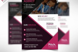 004 Stirring Busines Flyer Template Free Download Highest Clarity  Photoshop Training Design