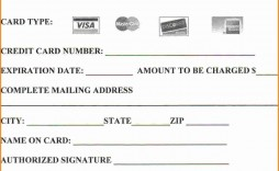 004 Stirring Credit Card Authorization Template Example  Form Pdf Fillable Free