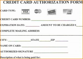 004 Stirring Credit Card Authorization Template Example  Form For Travel Agency Free Download Google Doc320
