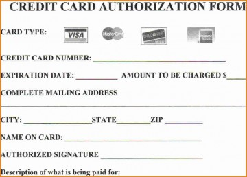 004 Stirring Credit Card Authorization Template Example  Form For Travel Agency Free Download Google Doc360