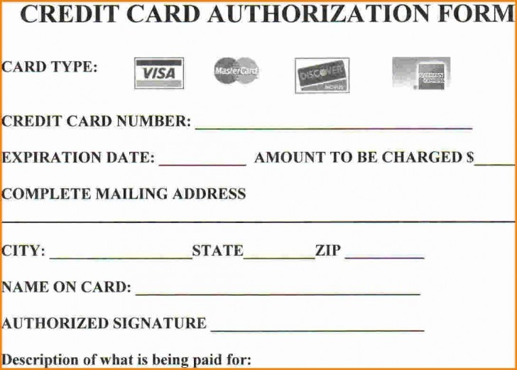004 Stirring Credit Card Authorization Template Example  Form For Travel Agency Free Download Google Doc728
