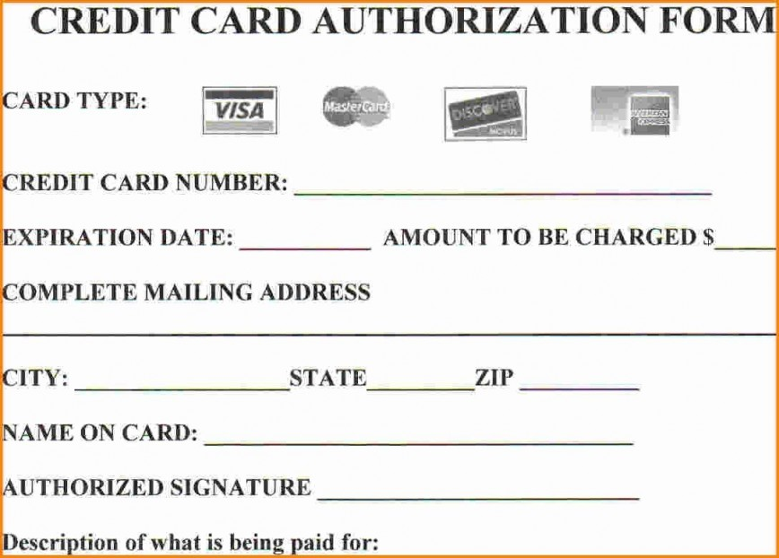 004 Stirring Credit Card Authorization Template Example  Form For Travel Agency Free Download Google Doc868