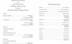 004 Stirring Free Church Program Template Doc Design