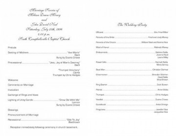 004 Stirring Free Church Program Template Doc Design 360