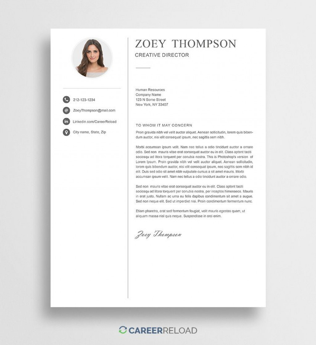 004 Stirring Free Cover Letter Template Download High Def  Word Doc ModernLarge