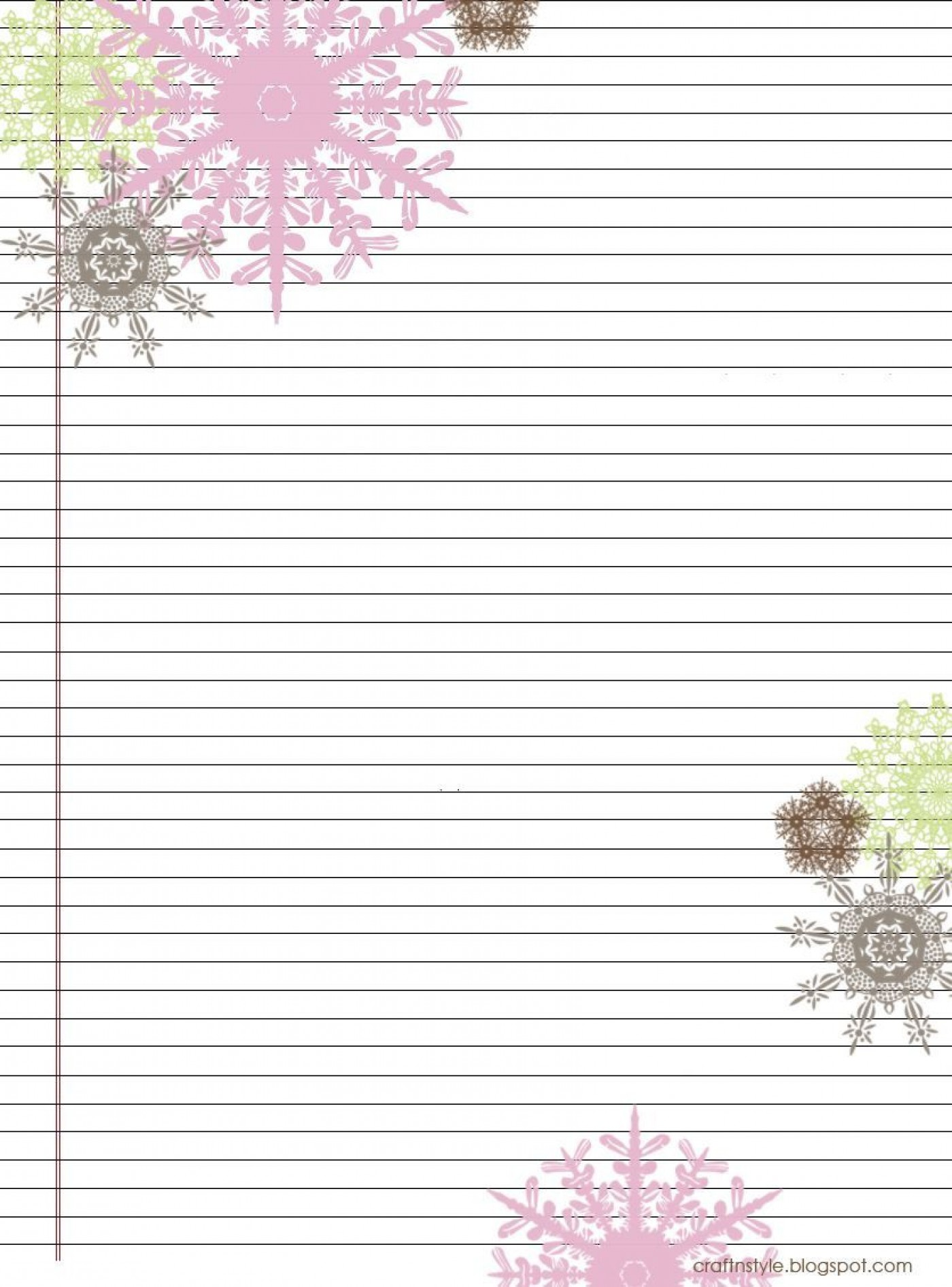 004 Stirring Free Printable Stationery Paper Template Inspiration 1400