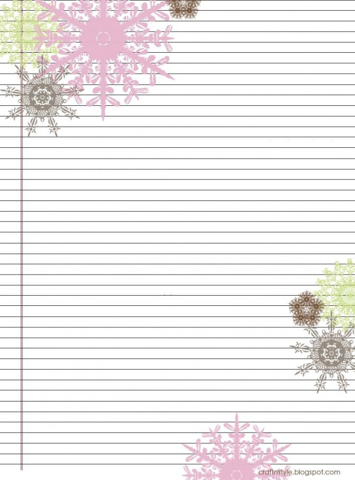 004 Stirring Free Printable Stationery Paper Template Inspiration 728