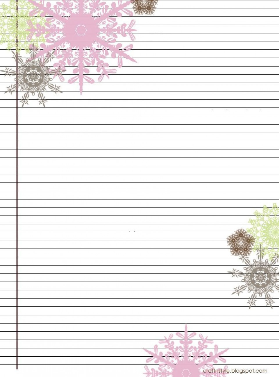 004 Stirring Free Printable Stationery Paper Template Inspiration 960