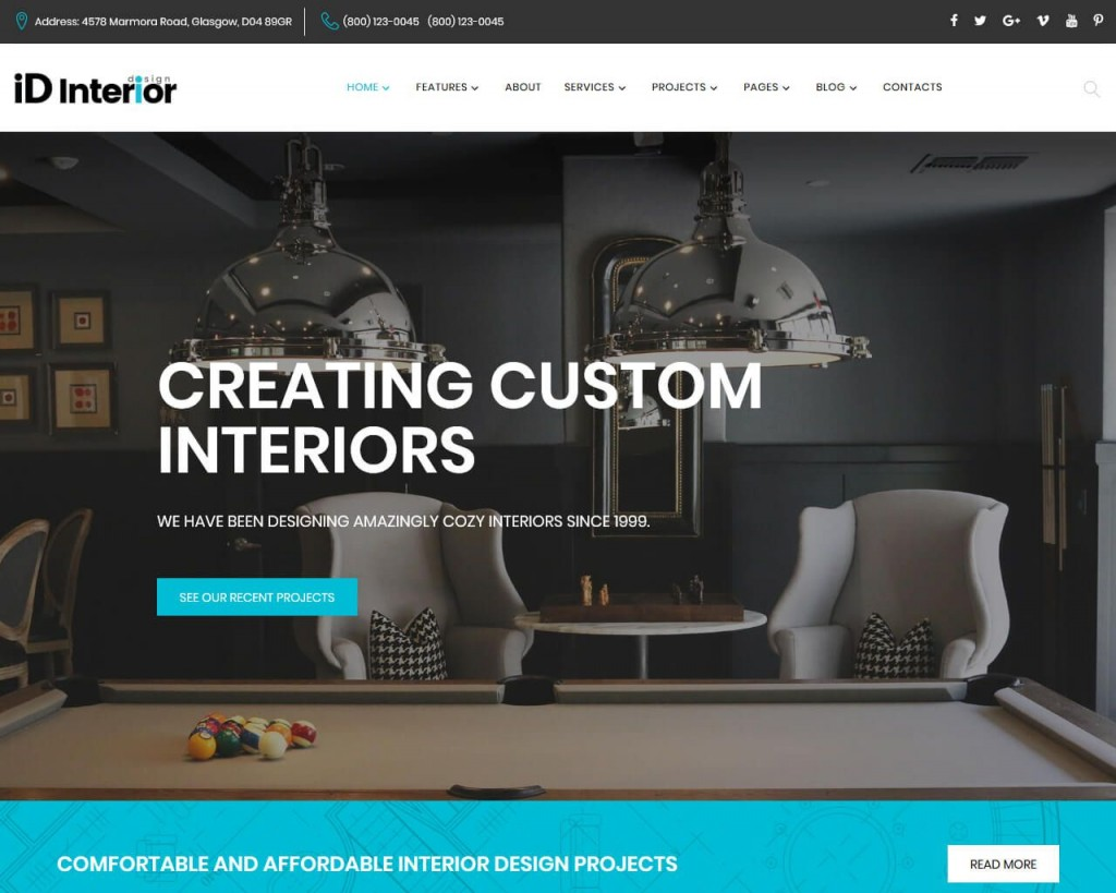 004 Stirring Interior Design Website Template Picture  Templates Company Free Download HtmlLarge