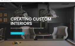004 Stirring Interior Design Website Template Picture  Templates Company Free Download Html