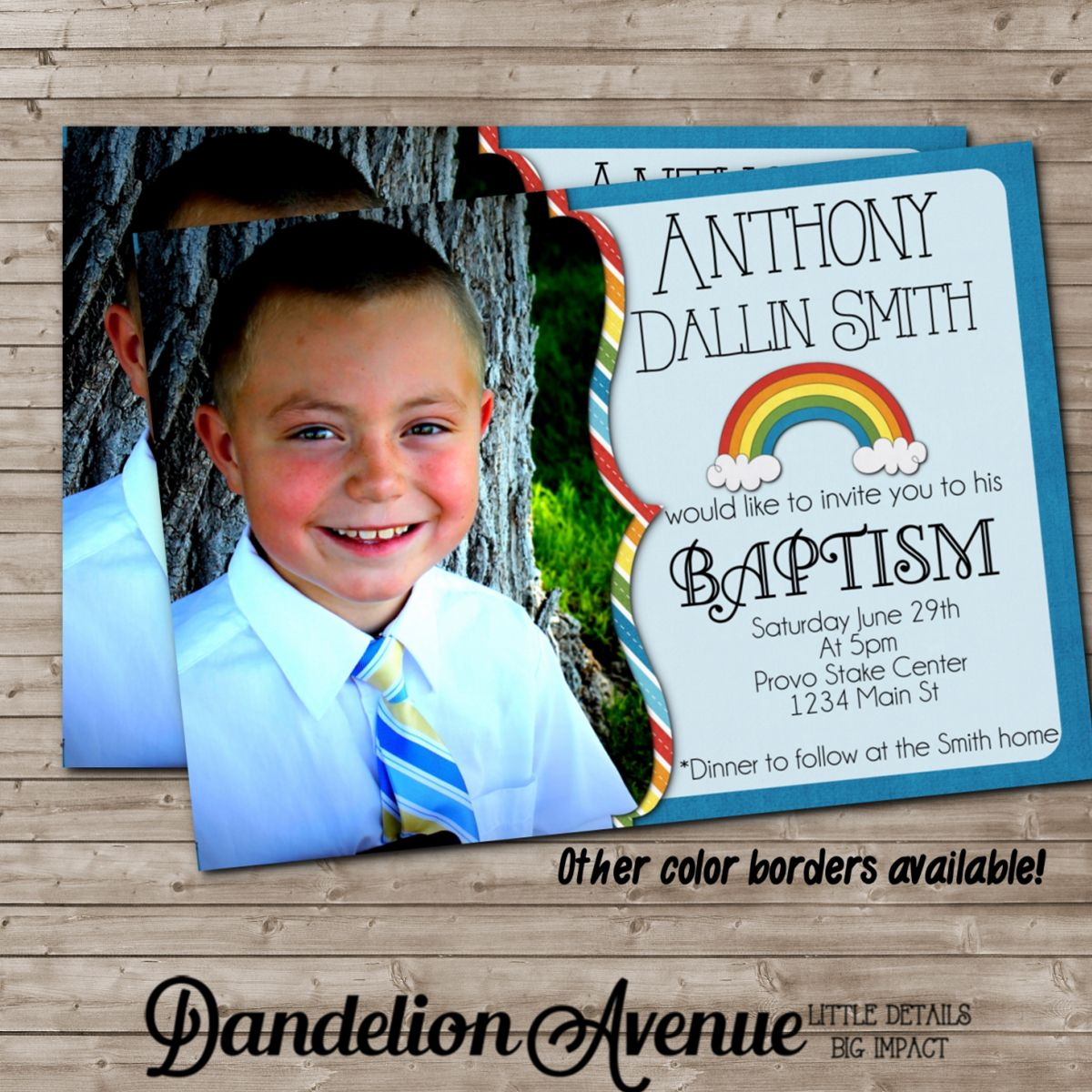 004 Stirring Ld Baptism Invitation Template Design Full