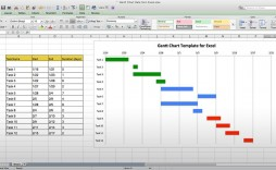 004 Stirring Microsoft Excel Gantt Chart Template Inspiration  Project Planner In Simple Free Download