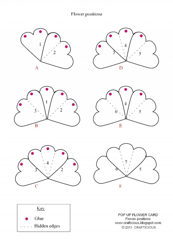 004 Stirring Pop Up Card Template Concept  3d Pdf Carousel Pattern DownloadLarge
