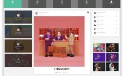 004 Stirring Social Media Website Template Inspiration  Free Download Html