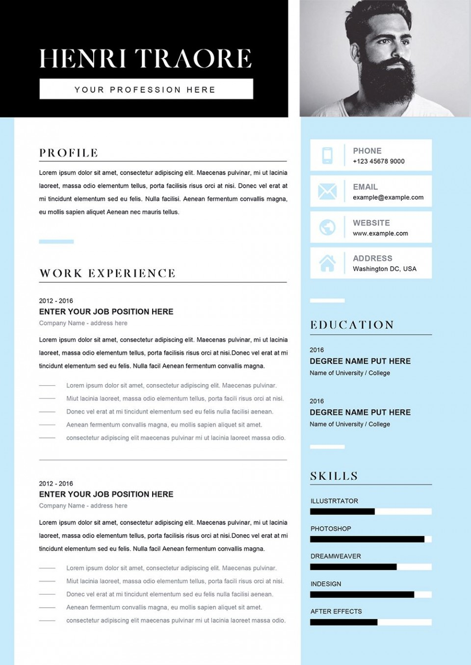 004 Stirring Student Resume Template Word Highest Clarity  Download College Microsoft Free960