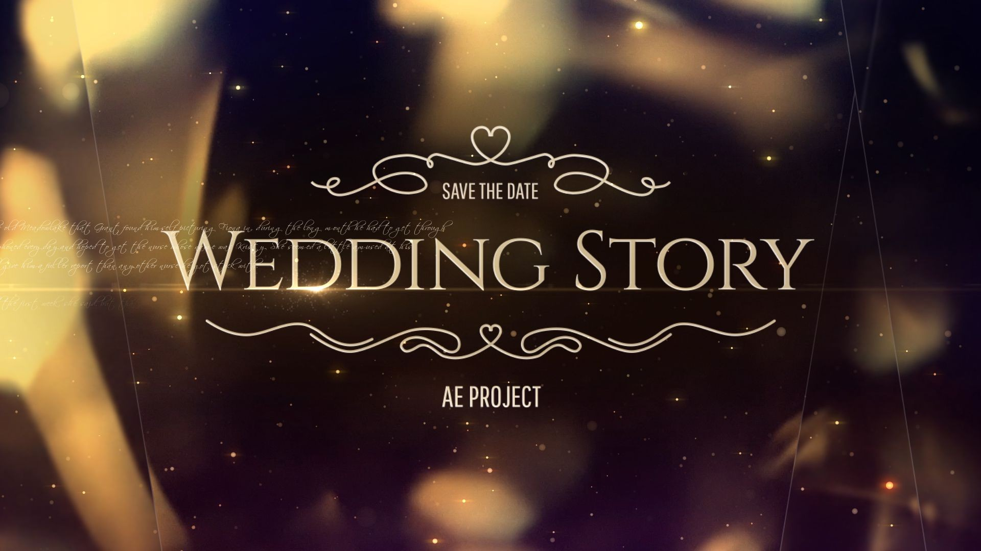 004 Striking After Effect Wedding Template High Resolution  Templates Free Download Cc Invitation1920