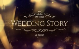 004 Striking After Effect Wedding Template High Resolution  Templates Free Download Cc Invitation