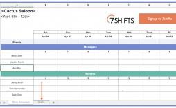 004 Striking Employee Shift Scheduling Template Photo  Schedule Google Sheet Work Plan Word Weekly Excel Free