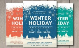 004 Striking Free Holiday Flyer Template Concept  Templates For Word Printable Christma