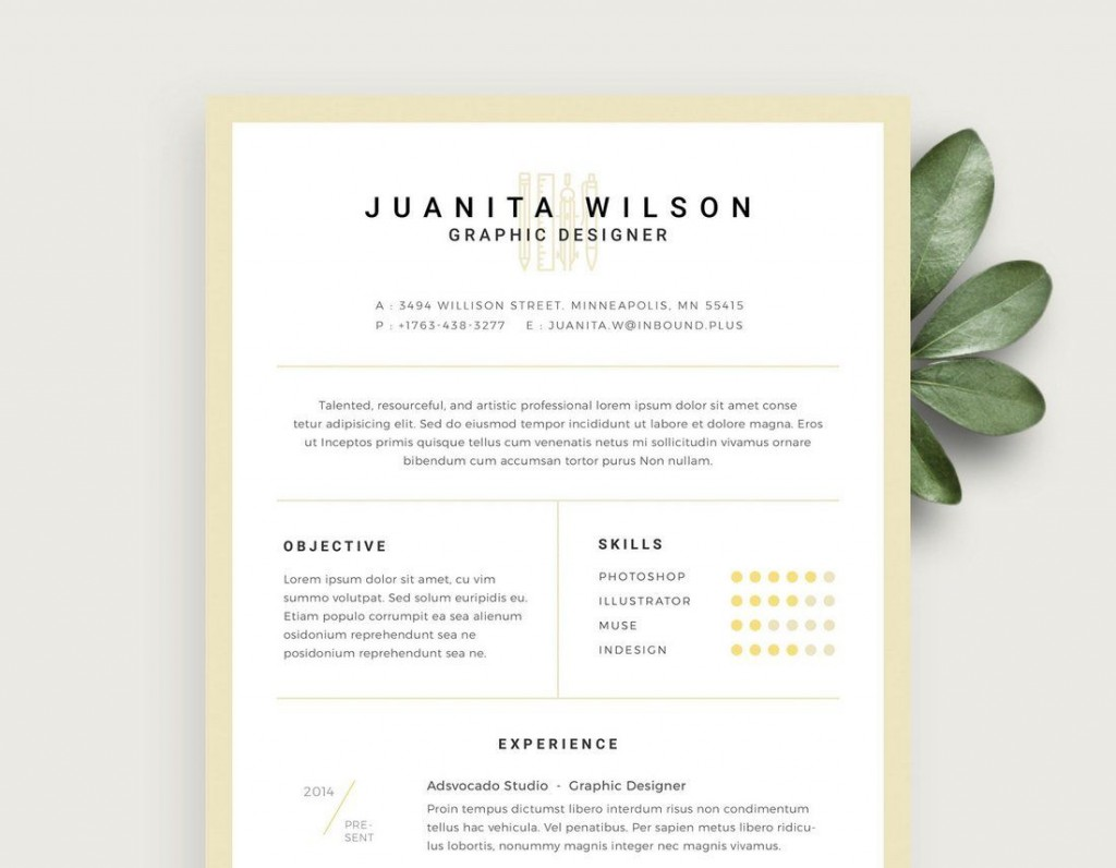 004 Striking Free Resume Template For Page Idea  Pages Apple MacLarge