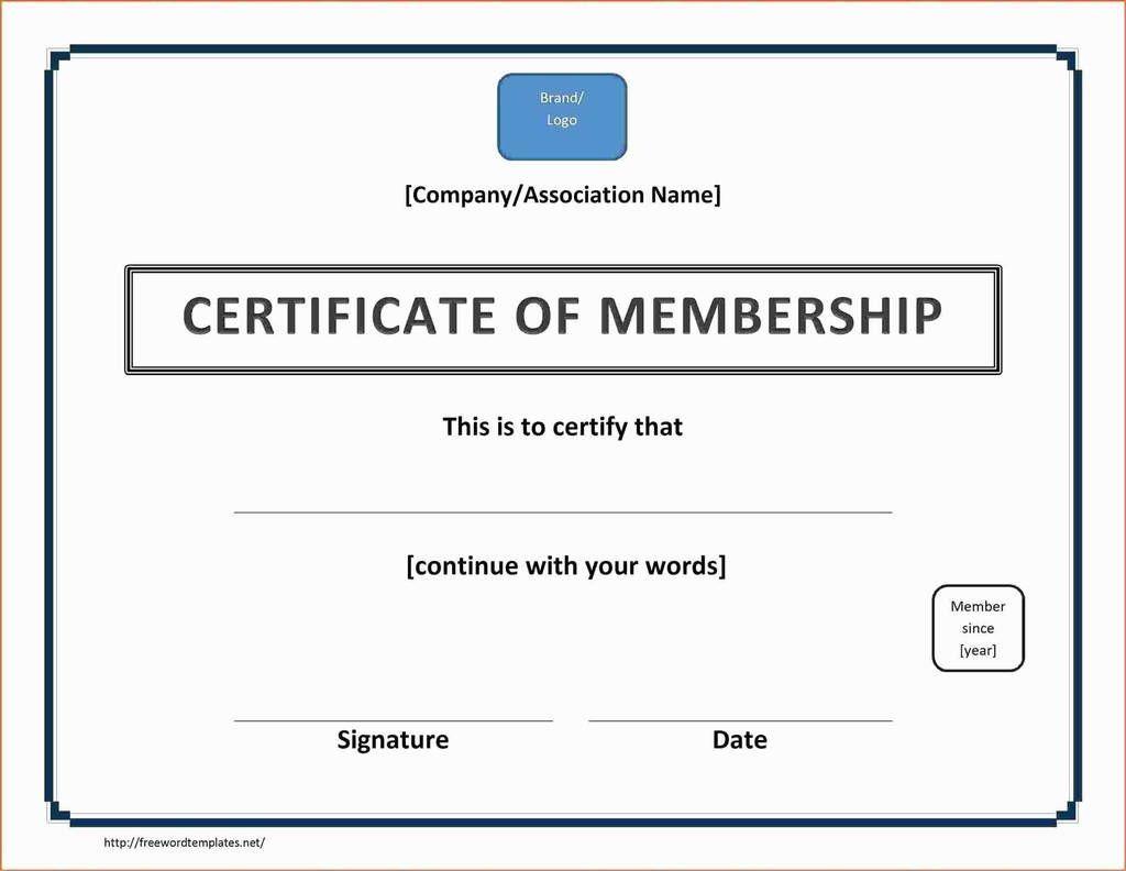 004 Striking Llc Membership Certificate Template Design  Interest Free MemberFull