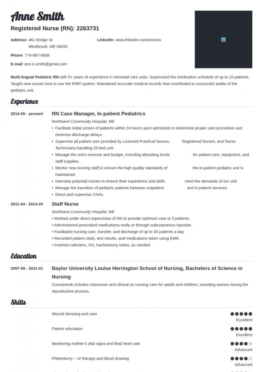 004 Striking Nurse Resume Template Free Design  Download Format Practitioner