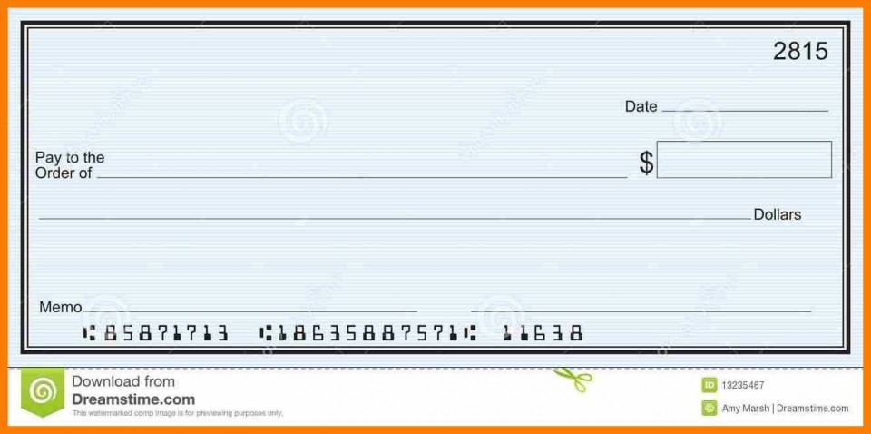004 Striking Quickbook Check Template Word Highest Clarity 960