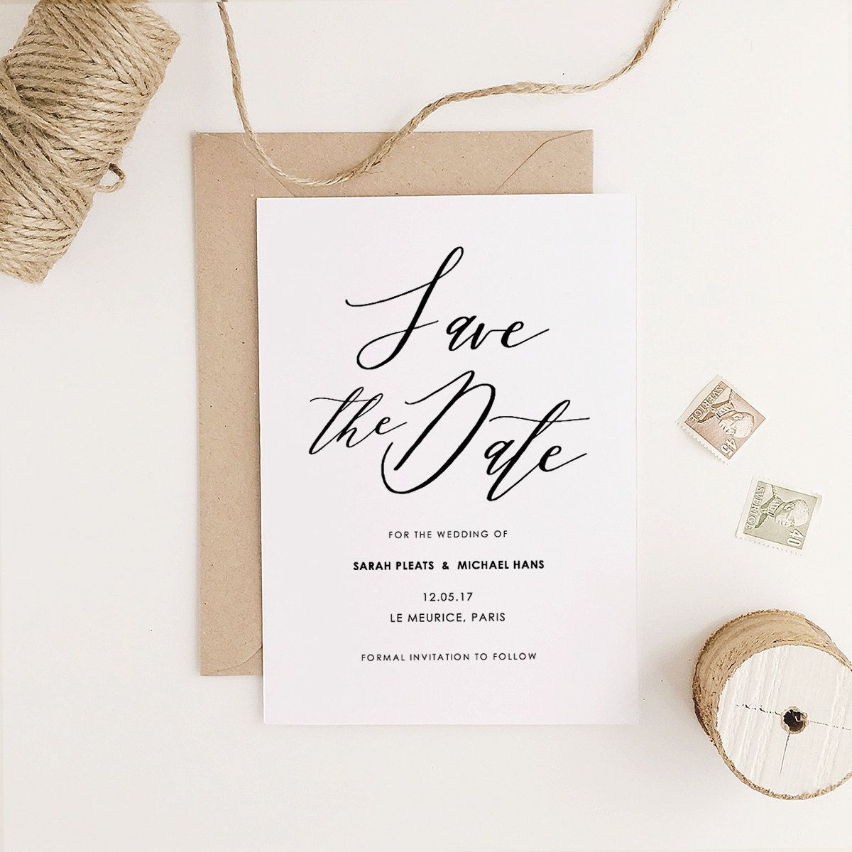 004 Striking Save The Date Template Word Highest Quality  Free Customizable For Holiday PartyFull