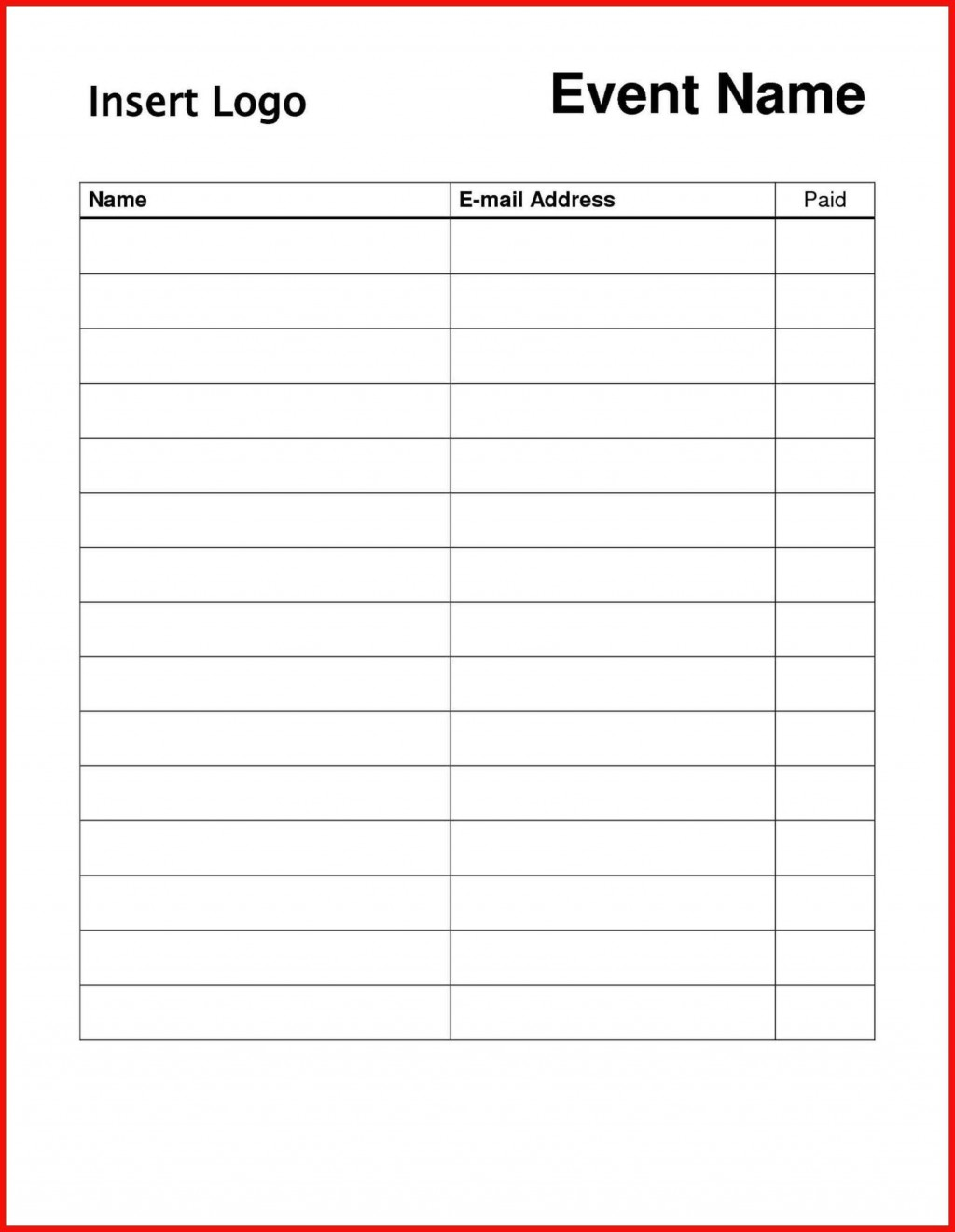004 Striking Sign In Sheet Template Doc Photo  Visitor Event UpLarge