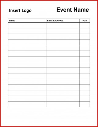 004 Striking Sign In Sheet Template Doc Photo  For Doctor Office Up Google Sample320