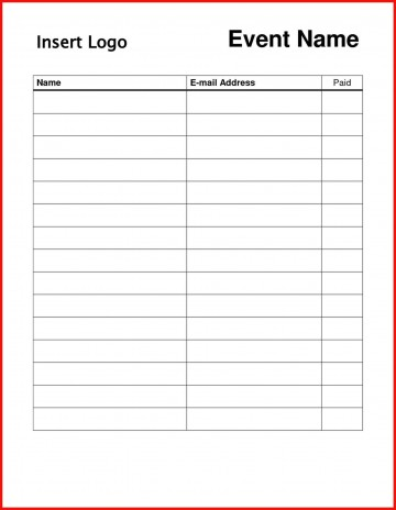 004 Striking Sign In Sheet Template Doc Photo  For Doctor Office Up Google Sample360