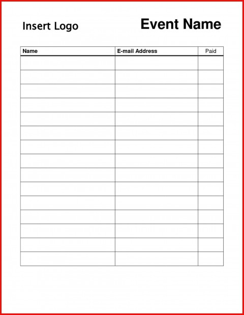 004 Striking Sign In Sheet Template Doc Photo  For Doctor Office Up Google Sample480