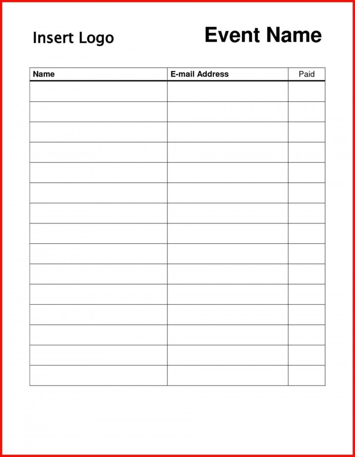 004 Striking Sign In Sheet Template Doc Photo  For Doctor Office Up Google Sample728