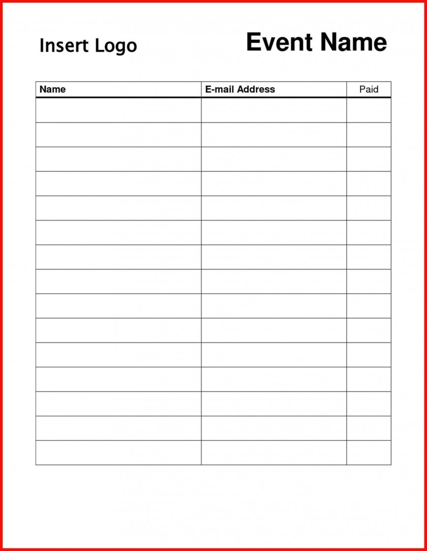 004 Striking Sign In Sheet Template Doc Photo  For Doctor Office Up Google Sample868