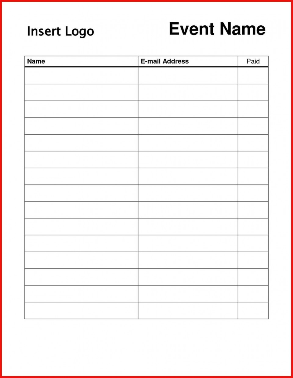004 Striking Sign In Sheet Template Doc Photo  For Doctor Office Up Google Sample960