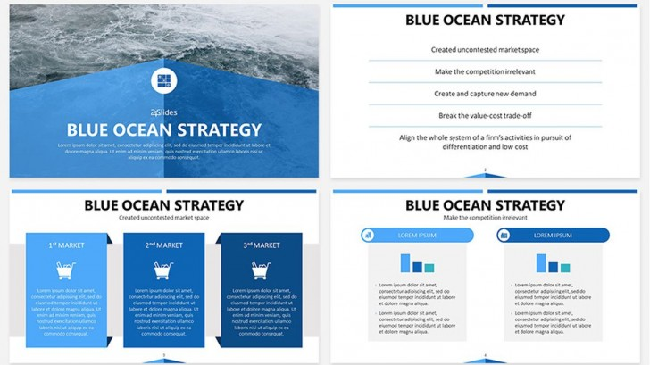 004 Striking Strategic Planning Template Free Photo  Powerpoint Proces728