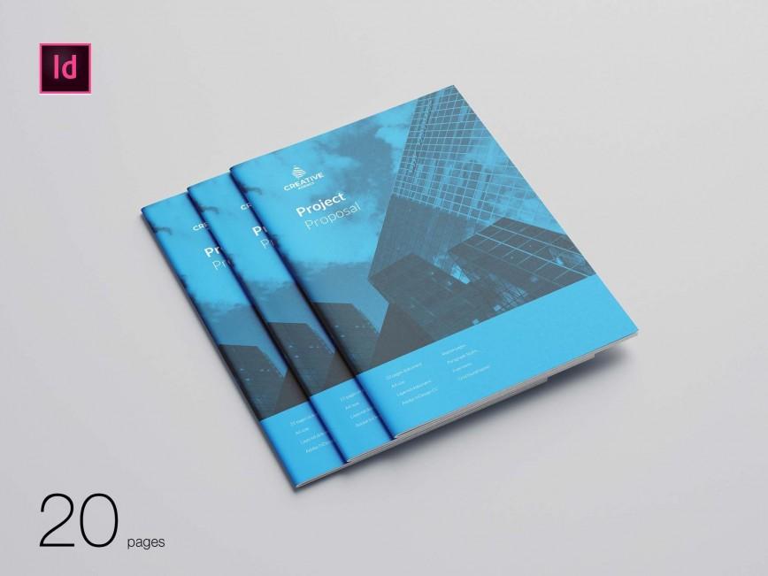 004 Striking Web Design Proposal Template Free Download Image