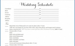 004 Striking Wedding Timeline Template Free Inspiration  Day Download For Guest Pdf