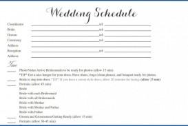 004 Striking Wedding Timeline Template Free Inspiration  Day Excel Program