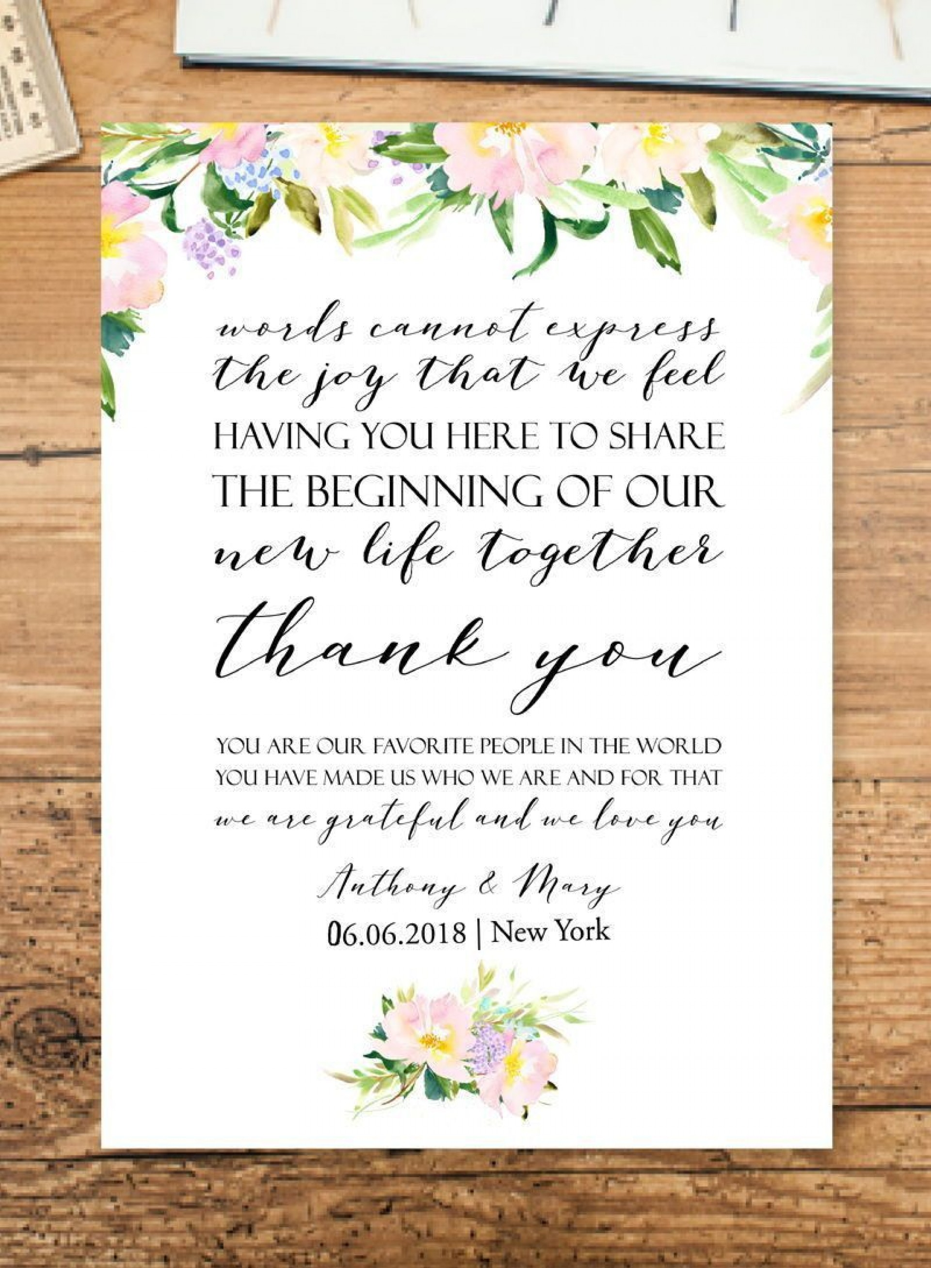 004 Striking Wedding Welcome Letter Template Word Concept 1920