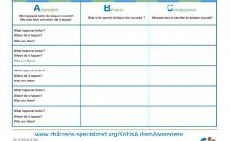 004 Striking Weekly Behavior Chart Template Highest Clarity  Pdf Classroom