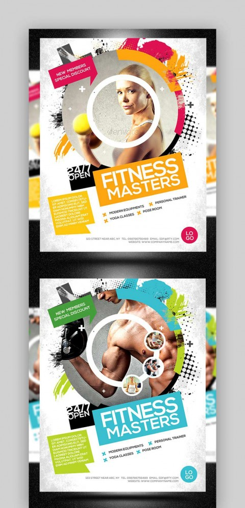 004 Stunning Adobe Photoshop Psd Poster Template Free Download High Resolution 480
