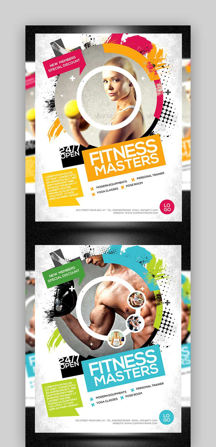 004 Stunning Adobe Photoshop Psd Poster Template Free Download High Resolution Full