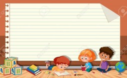 004 Stunning Book Template For Kid Highest Clarity  Kids