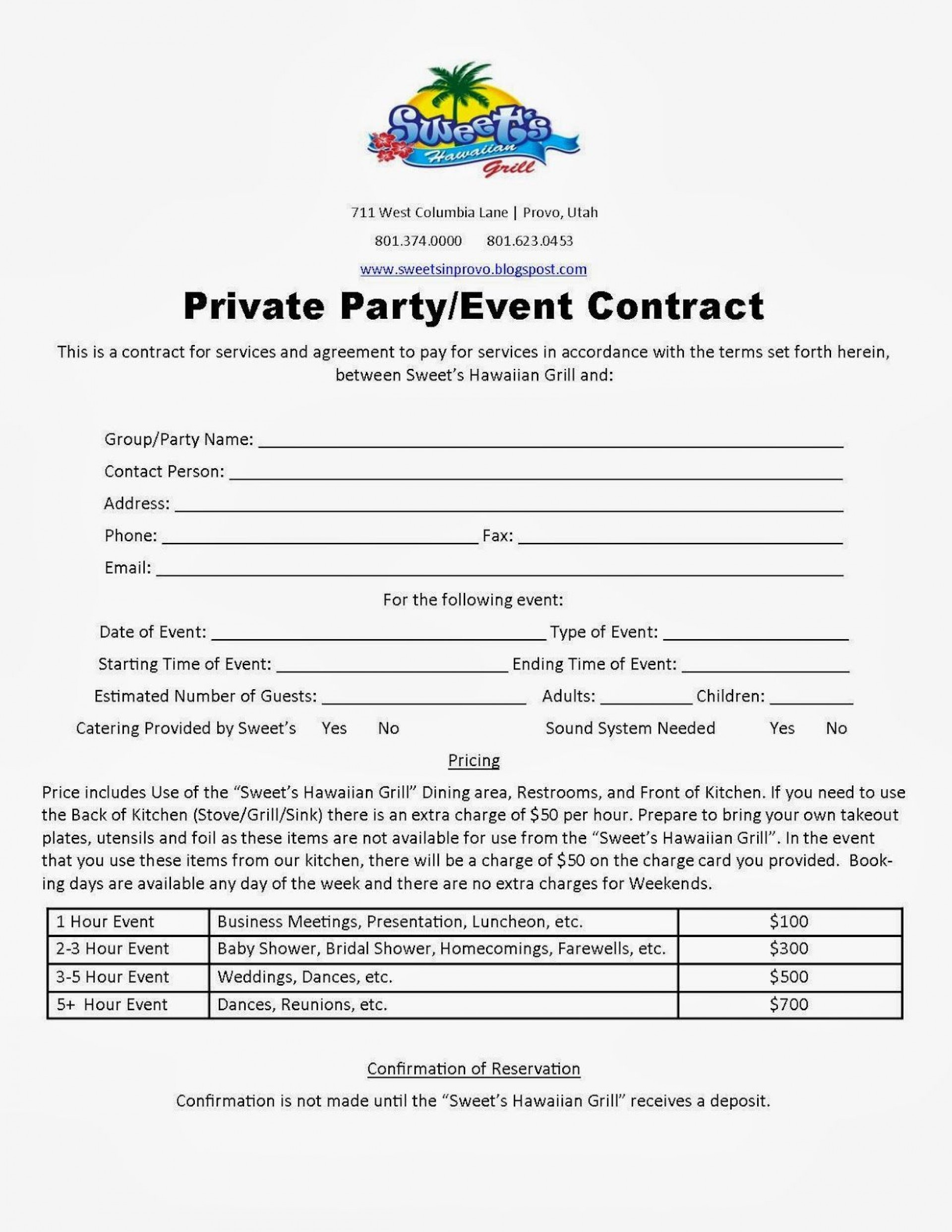 004 Stunning Event Planner Contract Template Concept  Free Download Planning1920
