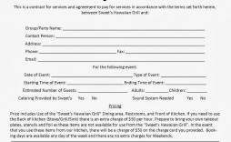 004 Stunning Event Planner Contract Template Concept  Free Download Planning