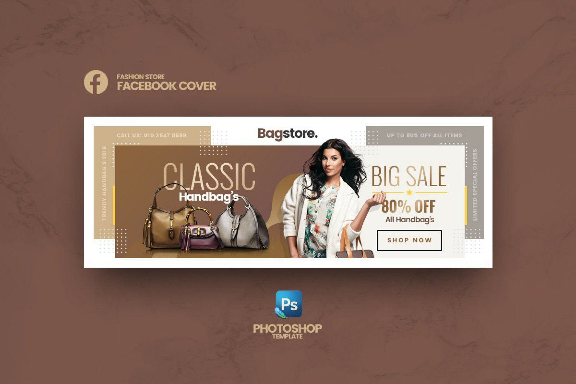 004 Stunning Facebook Cover Photo Photoshop Template  2019 Page Profile Picture Size1920