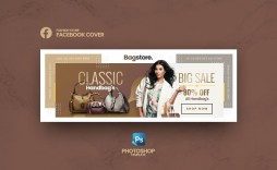 004 Stunning Facebook Cover Photo Photoshop Template  2019 Page Profile Picture Size